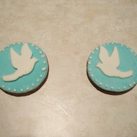 International Peace Day Cookies This is my first try using fondant on cookies.