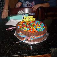 Another M&m Cake   Thanks for all the great ideas on this site