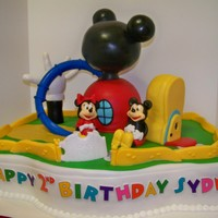Mickey Mouse Clubhouse Clubhouse top, glove and shoe RKT, the rest is cake