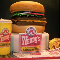 Wendy's Cheeseburger Meal