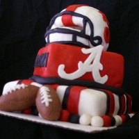 Alabama 30Th Bday Cake