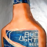 Bud Light Birthday Cake