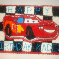 Cars Birthday Cake I made this cake for my nephew for his 4th birthday. I am 14 years old and I love to decorate cakes.Cake Photos By bnroberts1016, Check out...