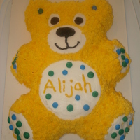 Teddy Bear Cake I made this cake for my nephews first birthday. I am 14 years old and I love to decorate cakes.Cake Photos By bnroberts1016, Check out my...