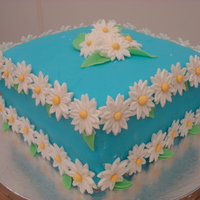 Daisy Cake This is a spring time daisy cake I made. I am 14 years old and I love to decorate cakes.Cake Photos By bnroberts1016, Check out my other...