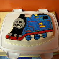 Another Thomas The Tank Engine Cake My son is OBSESSED with Thomas the Tank Engine and has Thomas as the theme of his last four birthdays. That sure is something seeing how he...
