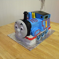 Thomas The Tank Engine My five year old has now had four years of Thomas the Tank Engine cakes (he is OBSESSED!!!) so I was out of ideas. I saw this 3D Thomas...