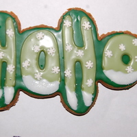 Ho Ho Cookies These cookies were an inspiration from someone on Cake Central. They are Gingerbread men turned sideways! I used an icing recipe that is...