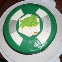 Beyblade Cake This was for my cousins 11th birthday. He loves beyblades!!