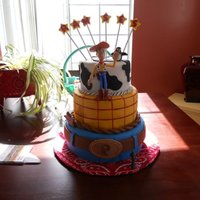 Woody This is an all fondant woody inspired piece.Thank you to all the many CCrs who posted their pics.I had way too much fun doing this cake.I...