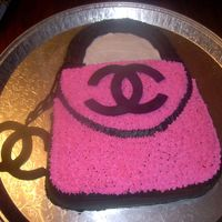 Chanel Cake Birthday cake made for my friend who loves purses!