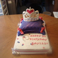 Princess Cake First pillow cake.Will do some things different.