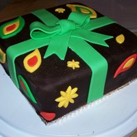 Chocolate Orange Surprise  The cake is a Chocolate orange variation on the WASC recipe. It is covered in chocolate butter cream and chocolate fondant. This is my...