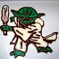 Yoda Yoda Chocolate Transfer