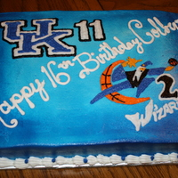 John Wall Uk - Wizards 16Th Birthday Done for a die hard John Wall fan's 16th birthday who wanted to celebrate both his playing time at UK and his new draft to the...