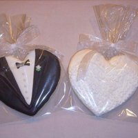Bride And Groom Cookies NFSC & Antonia74 RI. Design inspired by many others. TFL!