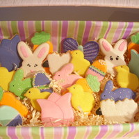 Easter Cookies!!! I had a lot of fun making these for my family and friends. NFSC & Antonia74 RI. TFL!