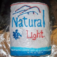 Natural Lite Can This Natural Lite is actually strawberry cake with cream cheese icing... yummy.