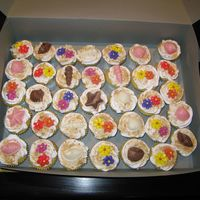 Cupcakes Made these for a little girl's birthday party