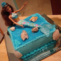 Mermaid Cake For My Daughter Birthday