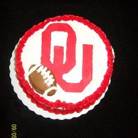 Sooner Cake This cake was made for opening day of the Sooner Football Season. This was my first time using a combination of Fondant and Buttercream. My...