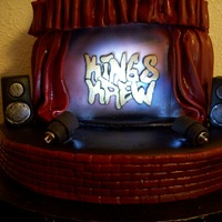 Kings Krew Dance Company Cake
