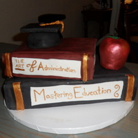 Masters In Education Grad Cake