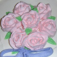 Buttercream Roses pink buttercream roses