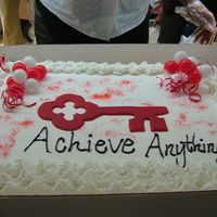 Cake For Ribbon Cutting Ceremony