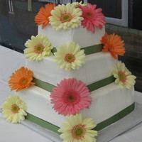 Gerber Daisy Wedding Cake Gerber daisy wedding cake