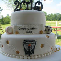 Accomplishments Grad Cake