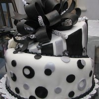 Black And Silver Birthday