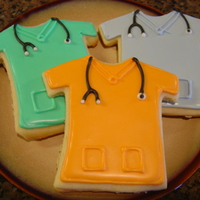 Scrubs  I made these for my cousin who is a nurse. He will be traveling to Haiti this week to assist the earthquake victims. I've seen these...