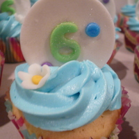 6Th Birthday Cupcakes