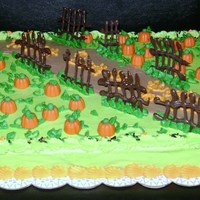 Pumpkin Patch Pumpkin Patch cake I made for a local charity.
