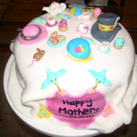 Mad Hatter Picnic this is a mad hatter cake i made for mother's day