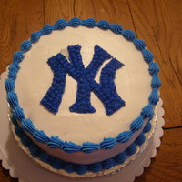 Yankees Banana and spice torte..vanilla buttercream