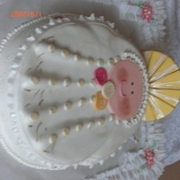 First Communion evething whit fondant!!!!!