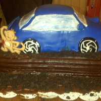 'trunkmonkey' Subaru Cake This was a cake that I was FORCED to do...Ha! My best friend needed a cake for her hubby's birthday. With his love for cars and...