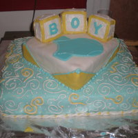 Baby Boy  This was my baby shower cake. It was the first cake I ever really spent time to design and decorate. It was also the first time I ever used...