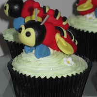 Buzzy Bee Cupcakes Buzzy Bee cupcakes made for the Child Cancer Family Room to celebrate their new sponsor... Buzzy Bee (a NZ icon) will be touring NZ raising...