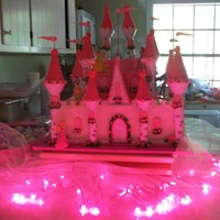 Castle Cake   castle cake flutterbytd thanks for the information on how too.Added the rest of the columns at location