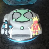 Another Ben 10 Cake