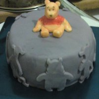 Winnie The Pooh wanted a more grown up looking winnie cake for my 13yr old niece, i think i achived it, hope yu like,