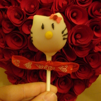 Hello Kitty Cake Pop Hello Kitty Cake Pop