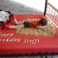 Volleyballcake For Steffi