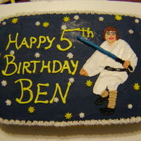 Ben's Luke Skywalker I went off a pic I found online