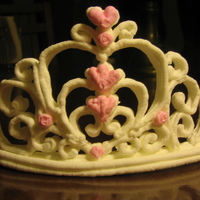 Whipped Cream/tiara Cake