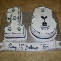 18Th Spurs Cake   18th spurs cake