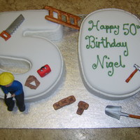 50Th Builder Cake